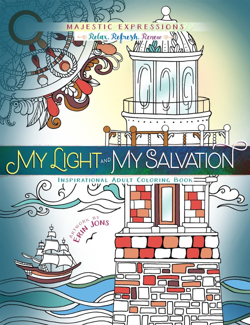 My Light & My Salvation Colouring Book