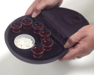 Portable Communion Set - Deluxe