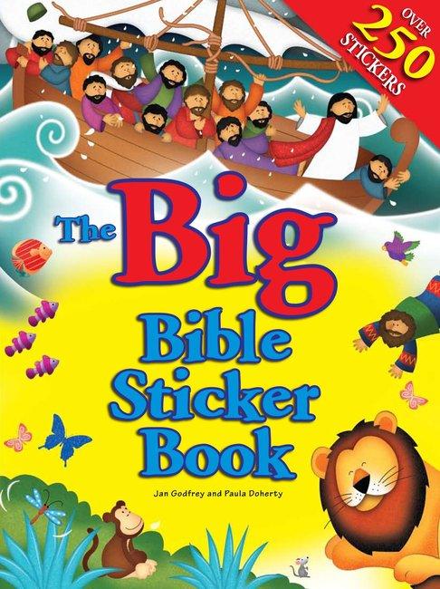 The Big Bible Sticker Book