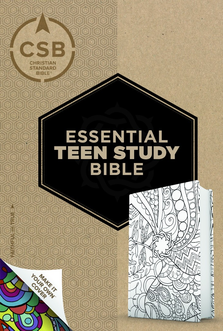 CSB Essential Teen Study Bible, Personal Size, Make-It-Your-