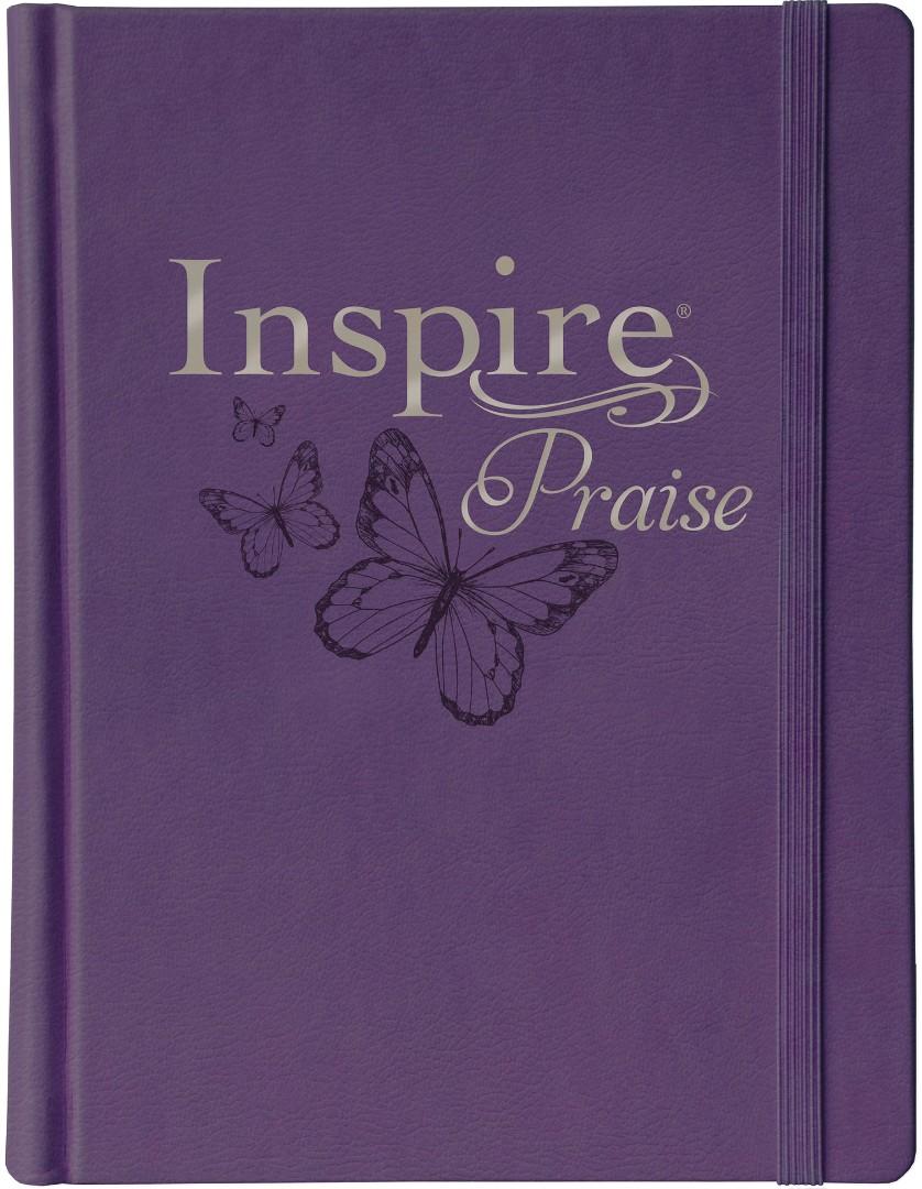 NLT Inspire PRAISE Bible, Purple