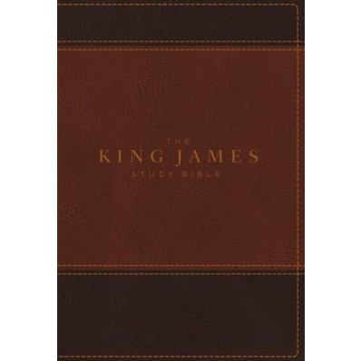 King James Study Bible, The, Full-Color Ed.