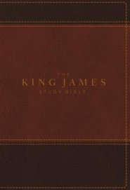 King James Study Bible, The, Indexed, Full-Color Ed.