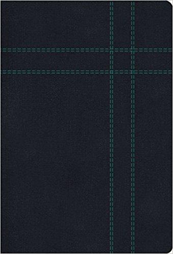 RVR 1960/KJV Biblia Bilingüe Tamaño Personal, negro imitació