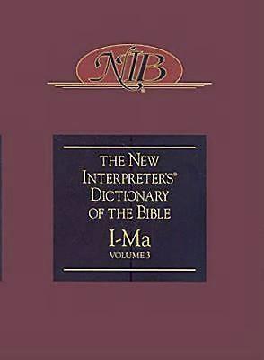 New Interpreter's Dictionary of the Bible Volume 3 - NIDB
