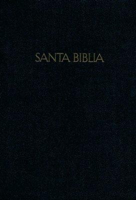 RVR 1960/KJV Biblia Bilingüe Letra Grande, negro imitación p