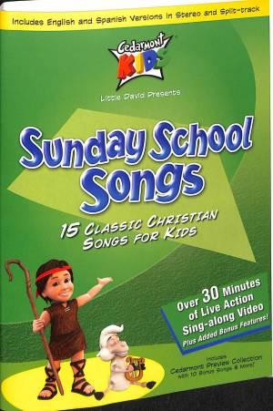 Kids Classics: Sunday School Songs Dvd-Audio
