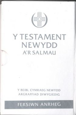 Beible Cymraeg Newydd NT & Psalms Pocket Gift Edition