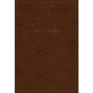 KJV Know The Word Study Bible, Black/Brown, Red Letter Ed.