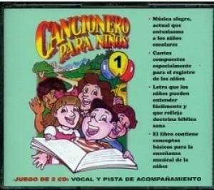 Cancionero Para Ninos 1 CD