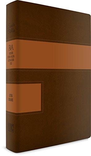 RVA 2015 Biblia Letra Grande Similar a Piel Dos Tonos