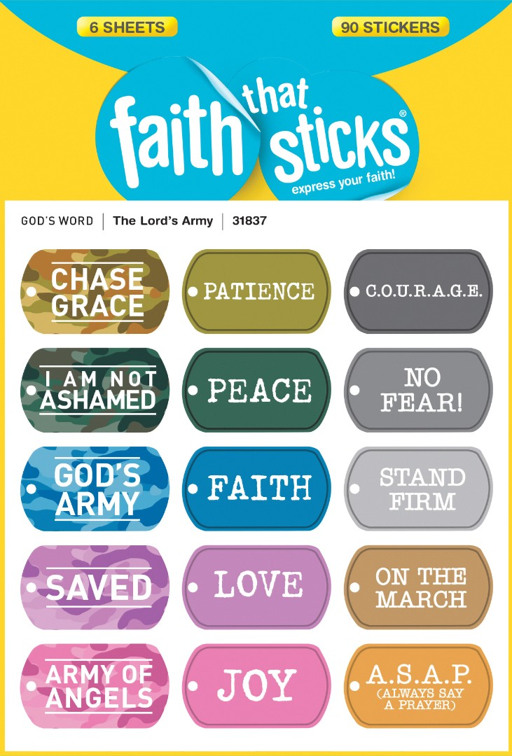 Lord's Army, The - Faith That Sticks Stickers