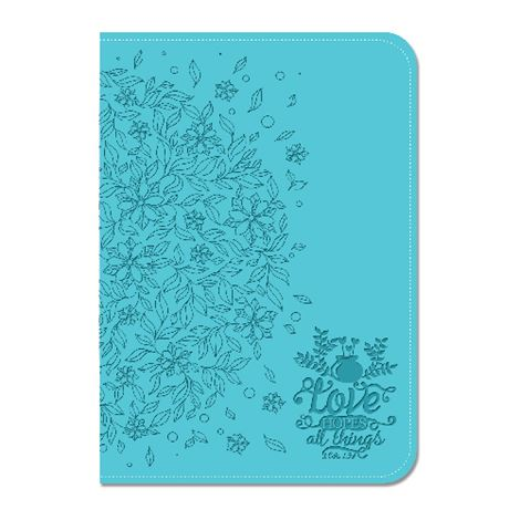 Lux Leather Journal Love Hopes All Things
