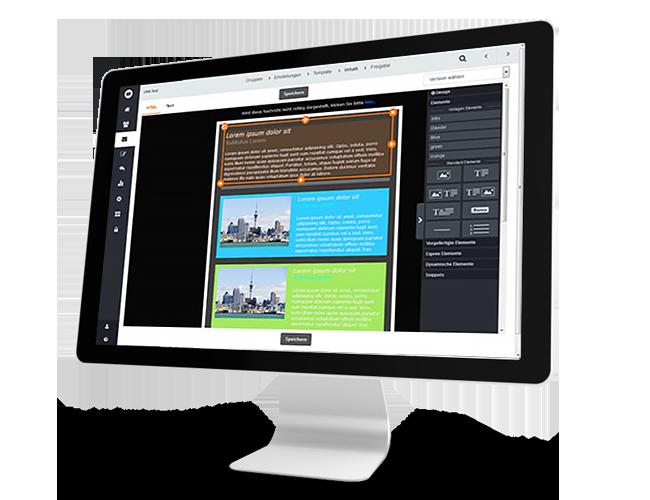 Alles zum Thema Newsletter erstellen mit dem Drag & Drop-Editor von CleverReach®, Empfänger und Einstellungen auswählen sowie alles Wichtige zu Newslettervorlagen, Templates und dynamischen Inhalt