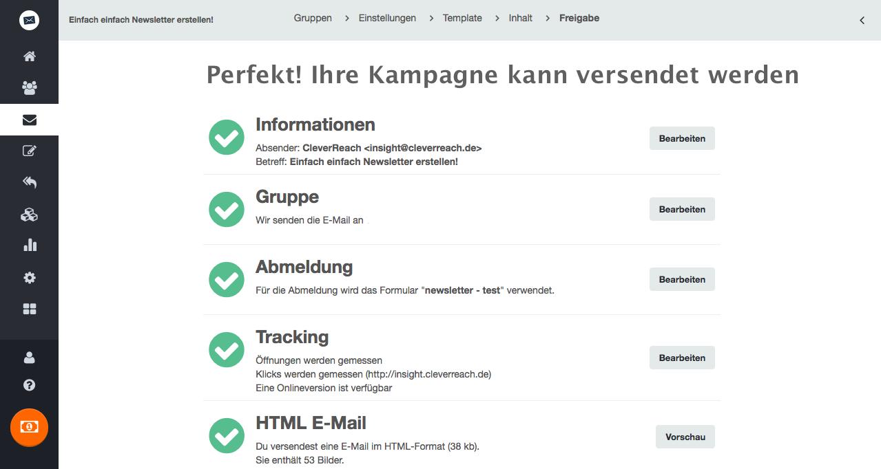 Newsletter erstellen mit dem CleverReach® Newsletter Editor - wir machen es Ihnen leicht