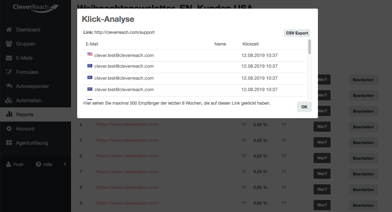 screenshot: Das müssen Sie zu den Tracking-Optionen wissen