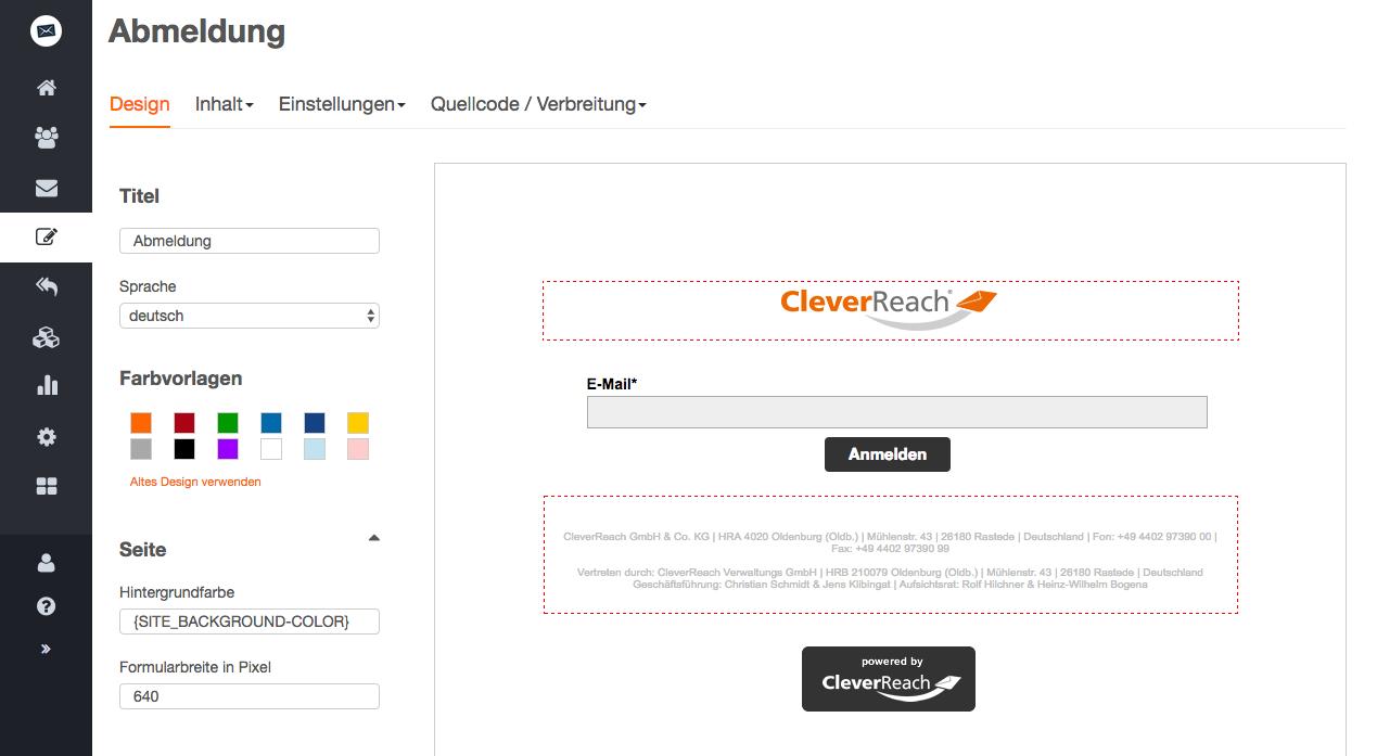 screenshot: Warum Sie die Abmeldung für Ihre Empfänger einfach machen sollten