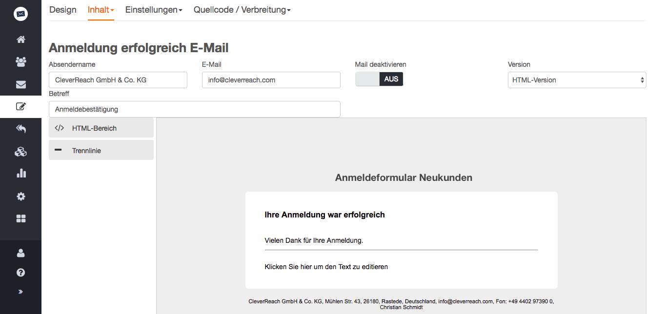screenshot: Schützen Sie die Daten Ihrer Kunden vor fremdem Zugriff