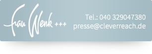 CleverReach - pressekontakt frauwenk
