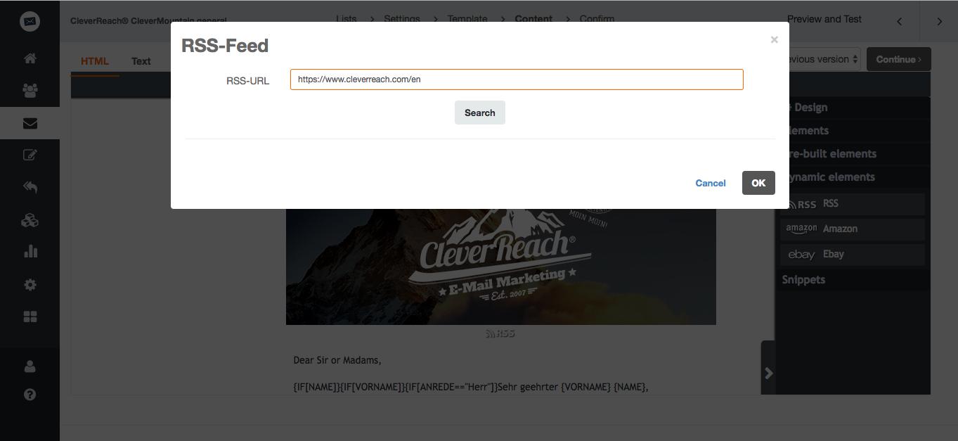 screenshot: 1. Dynamic emails