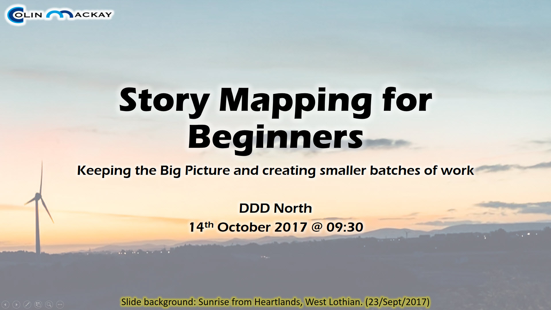 Storymapping for Beginners - Welcome Slide
