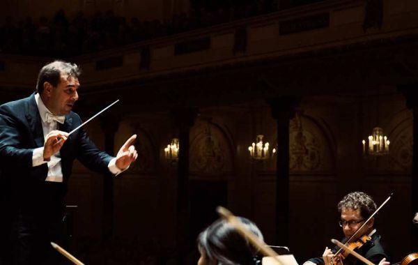 Masterclass dirigeren door Daniele Gatti met het Concertgebouworkest