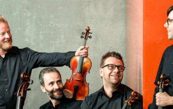 Zemlinsky Kwartet speelt Dvořák