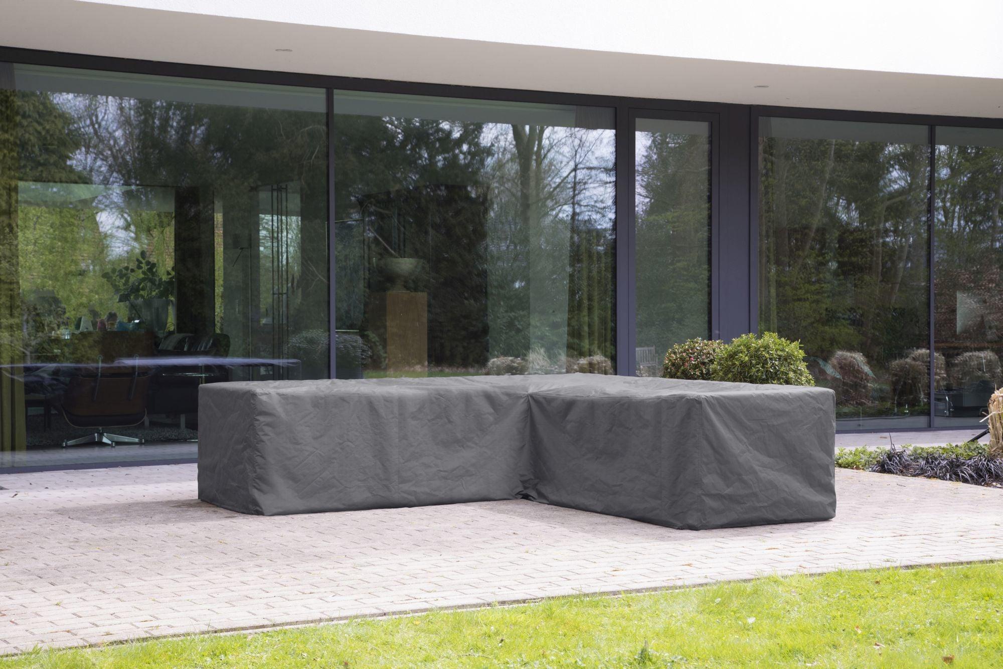 Outdoor Covers Premium hoes voor loungeset L vormig 215 cm