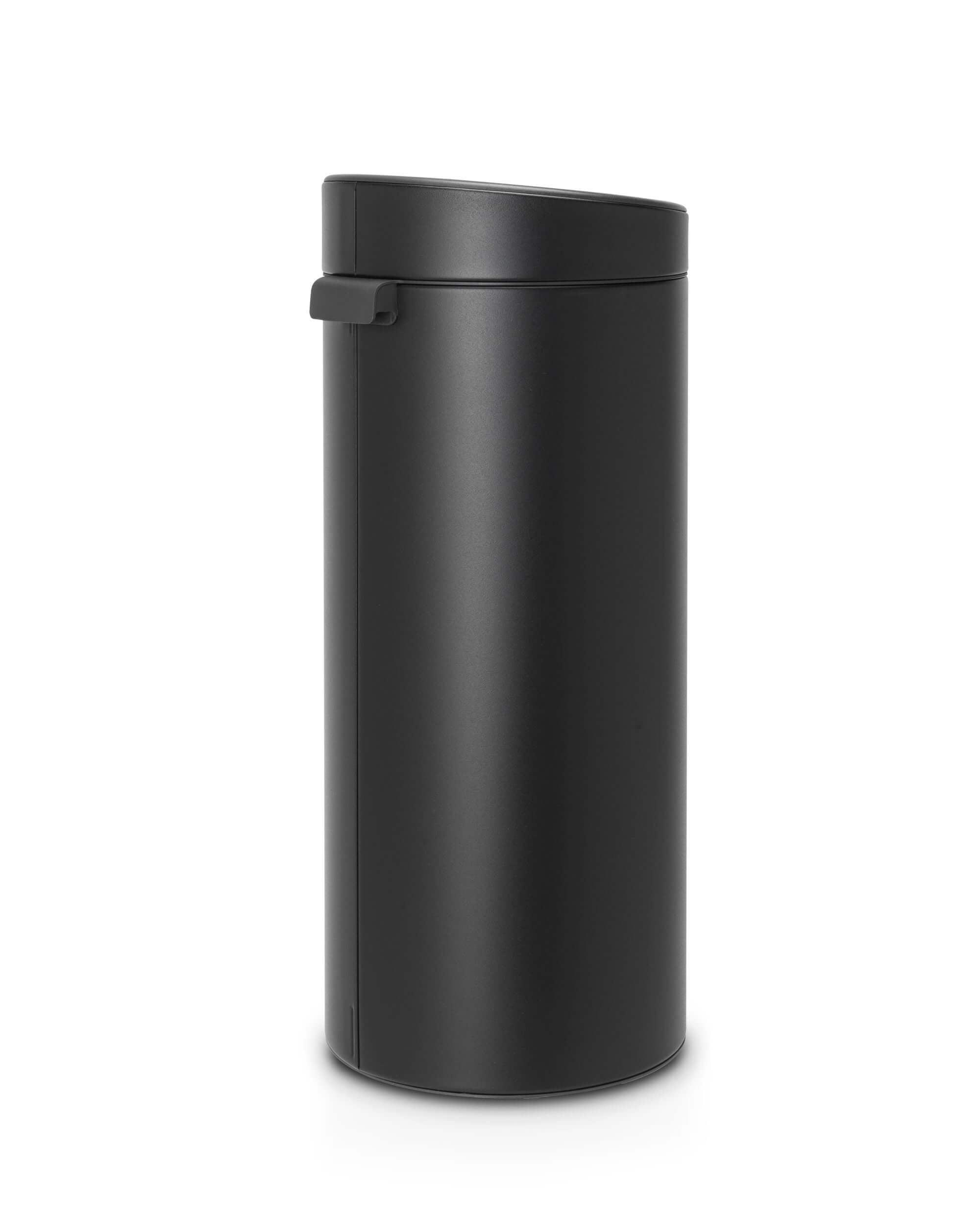 Brabantia 30 Liter Touch Bin.Brabantia Touch Bin 30 Liter Mineral Moonlight Black Brabantia Touch Bin 30 Liter Mineral Moonlight Black