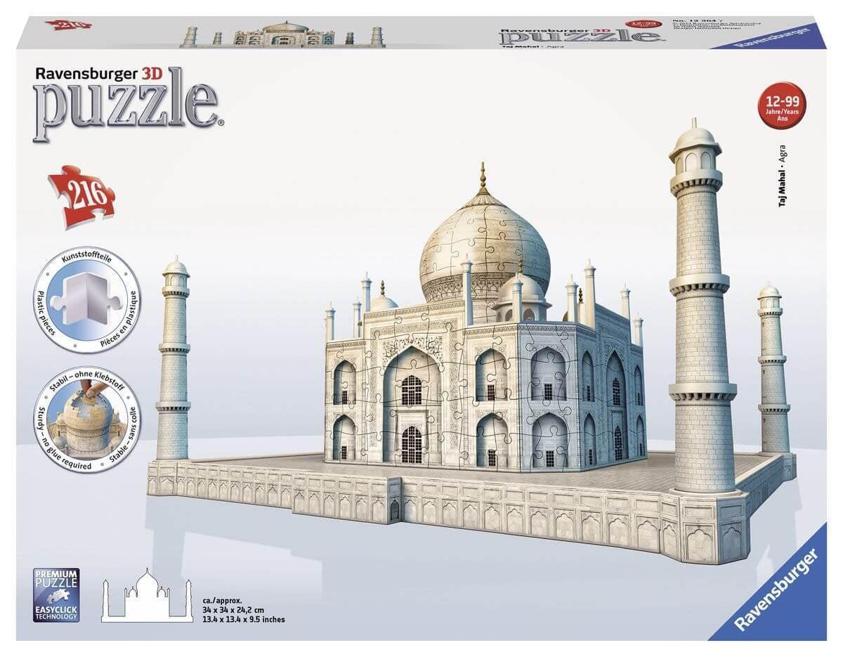 Ravensburger 3D puzzel Taj Mahal -