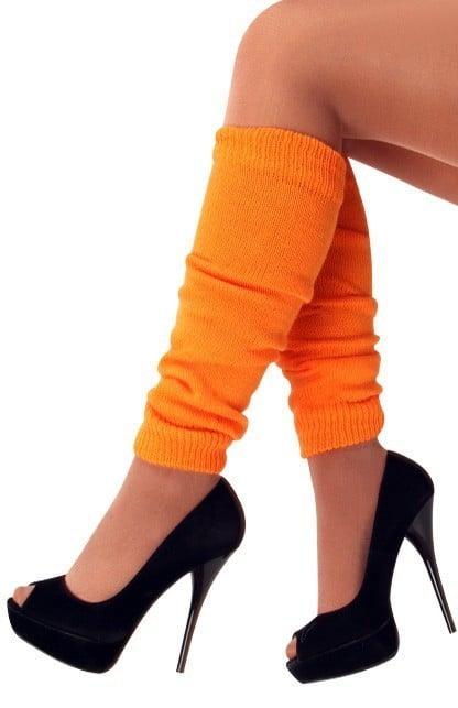 Beenwarmer acryl oranje