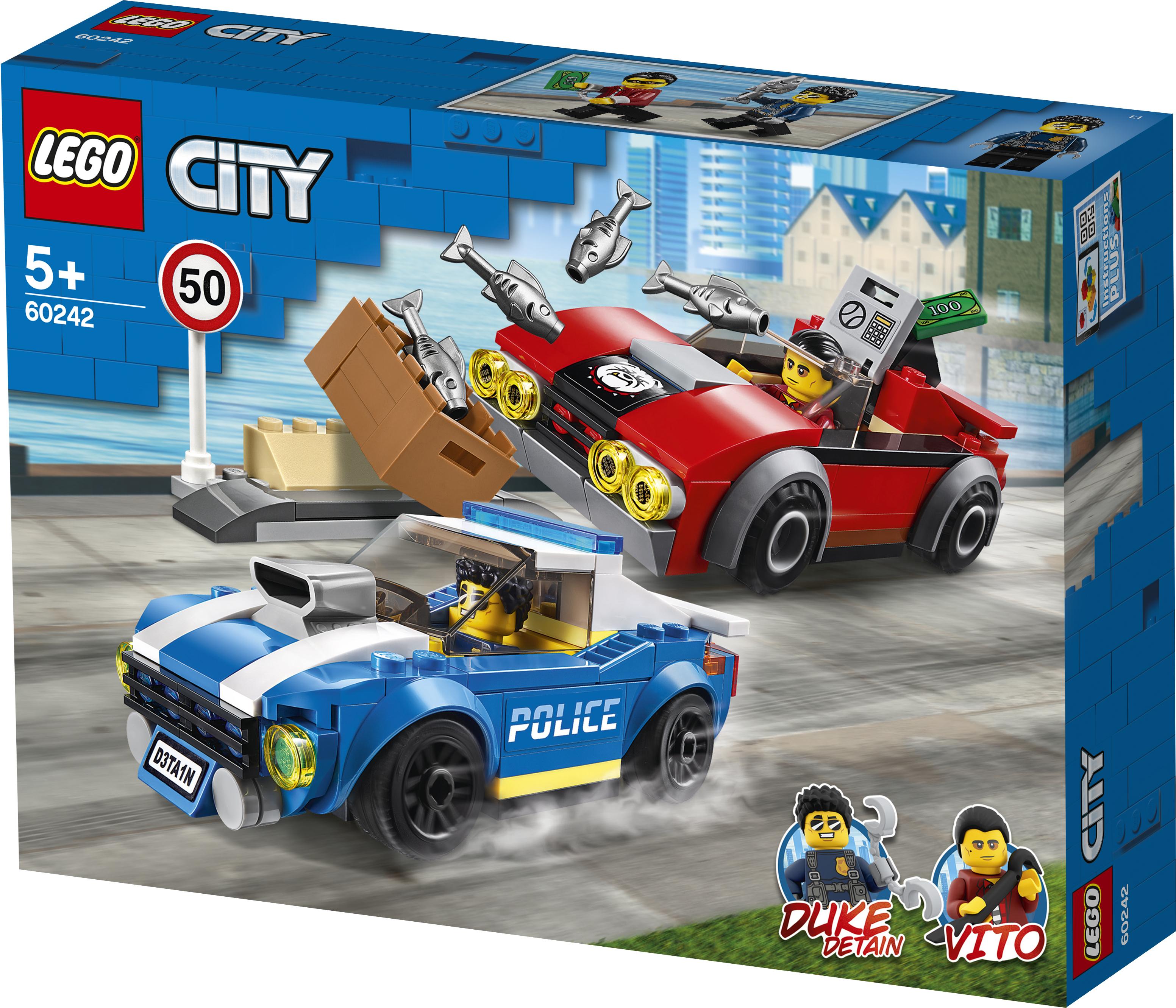 LEGO CITY 60242 Politiearrest op de snelweg vanaf 5 jaar
