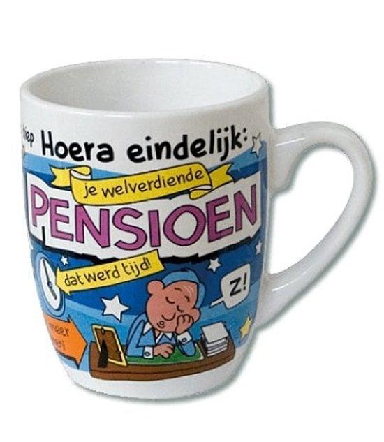 Cartoonmok Pensioen