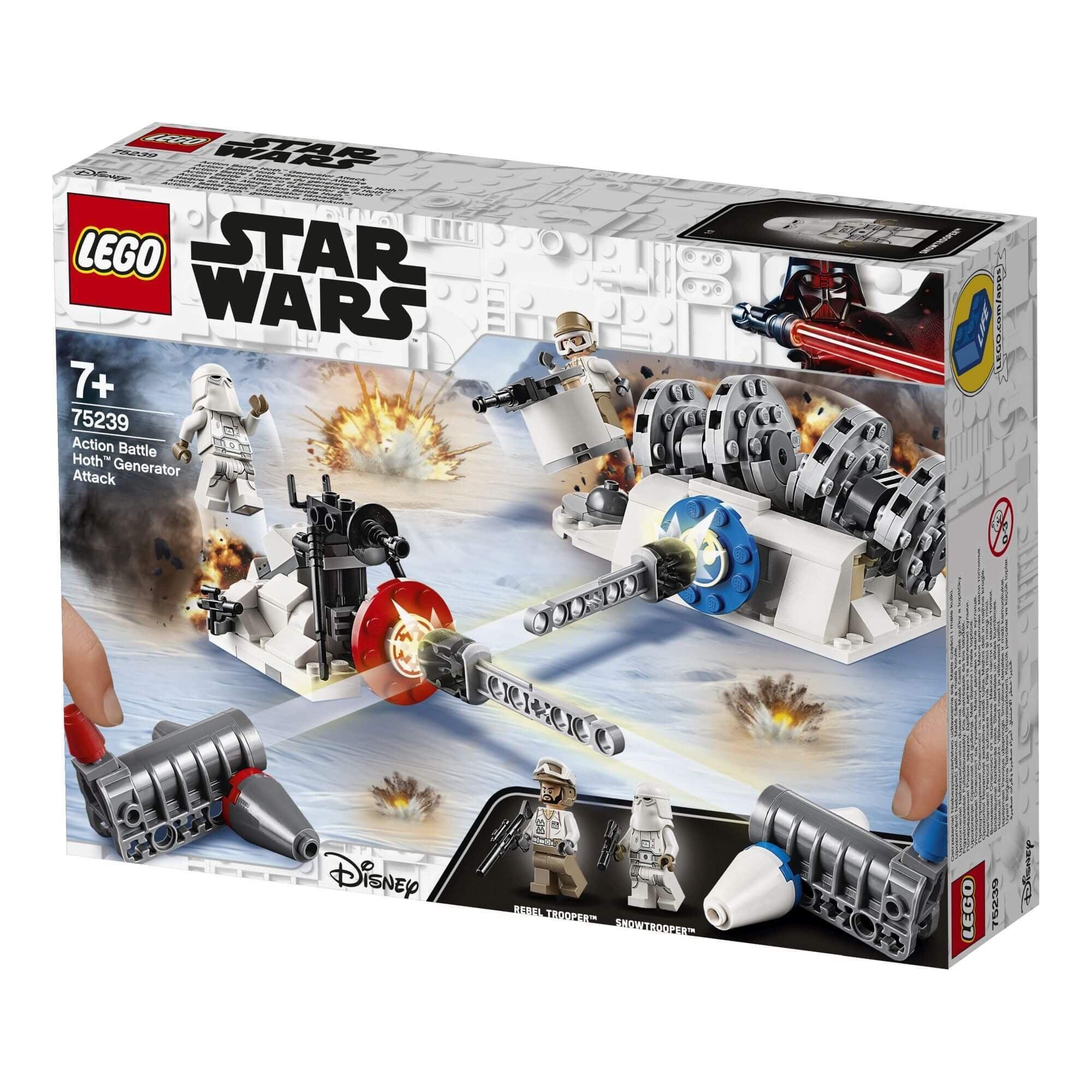 Lego Star Wars 75239 Action Battle Aanval Op De Hoth Generator Lego Star Wars 75239 Action Battle Aanval Op De Hoth Generator