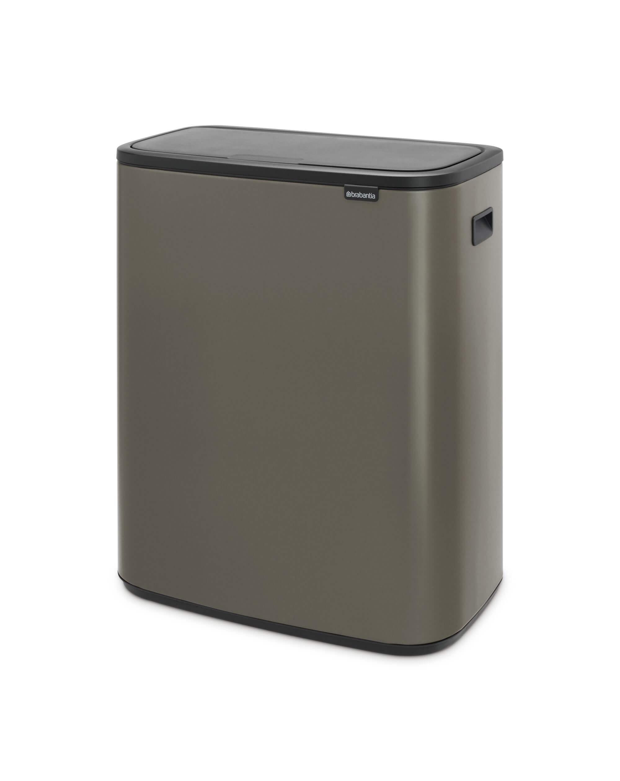 Brabantia 60 Liter.Brabantia Bo Touch Bin 60 Liter Platinum Brabantia Bo Touch Bin 60 Liter Platinum