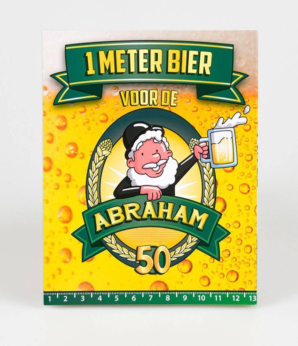 Bier Meter Kaarten - Abraham