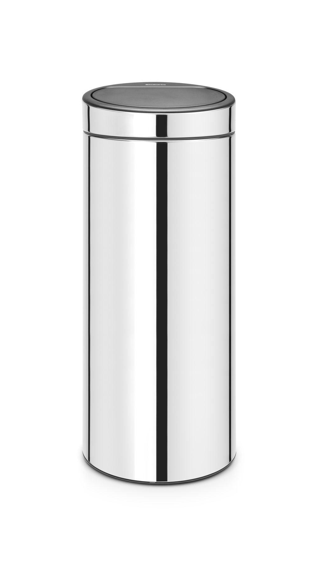 Brabantia Touch Bin 30 Liter Afvalemmer.Brabantia Touch Bin New Afvalemmer 30 Liter Brilliant Steel Brabantia Touch Bin New Afvalemmer 30 Liter Brilliant Steel