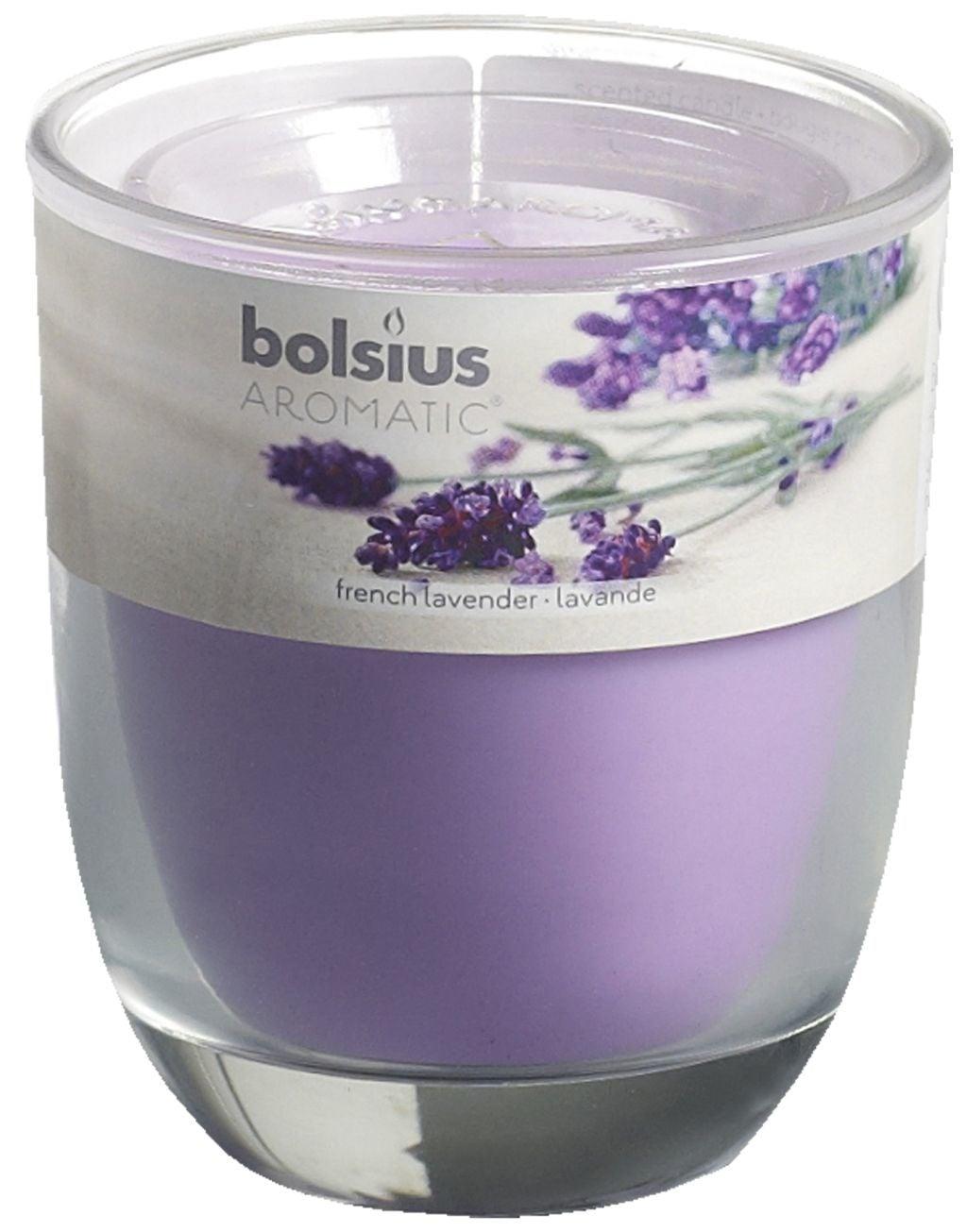 Bolsius Geurglas 80-70 Fresh Lavendel Stuk