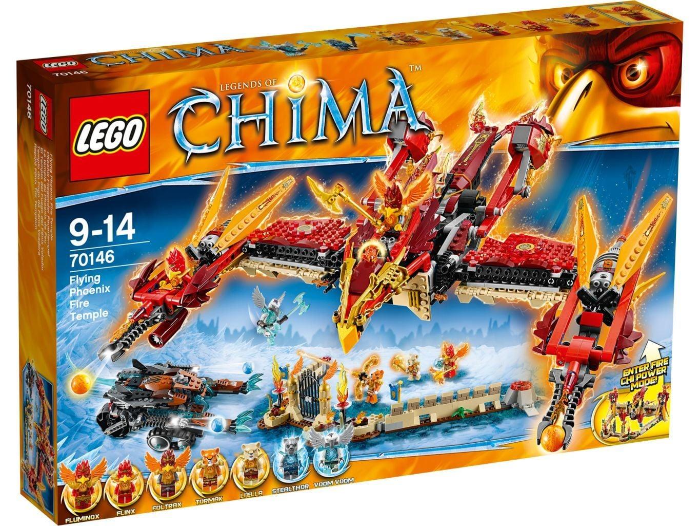 LEGO Chima Phoenix Vuurtempel 70146