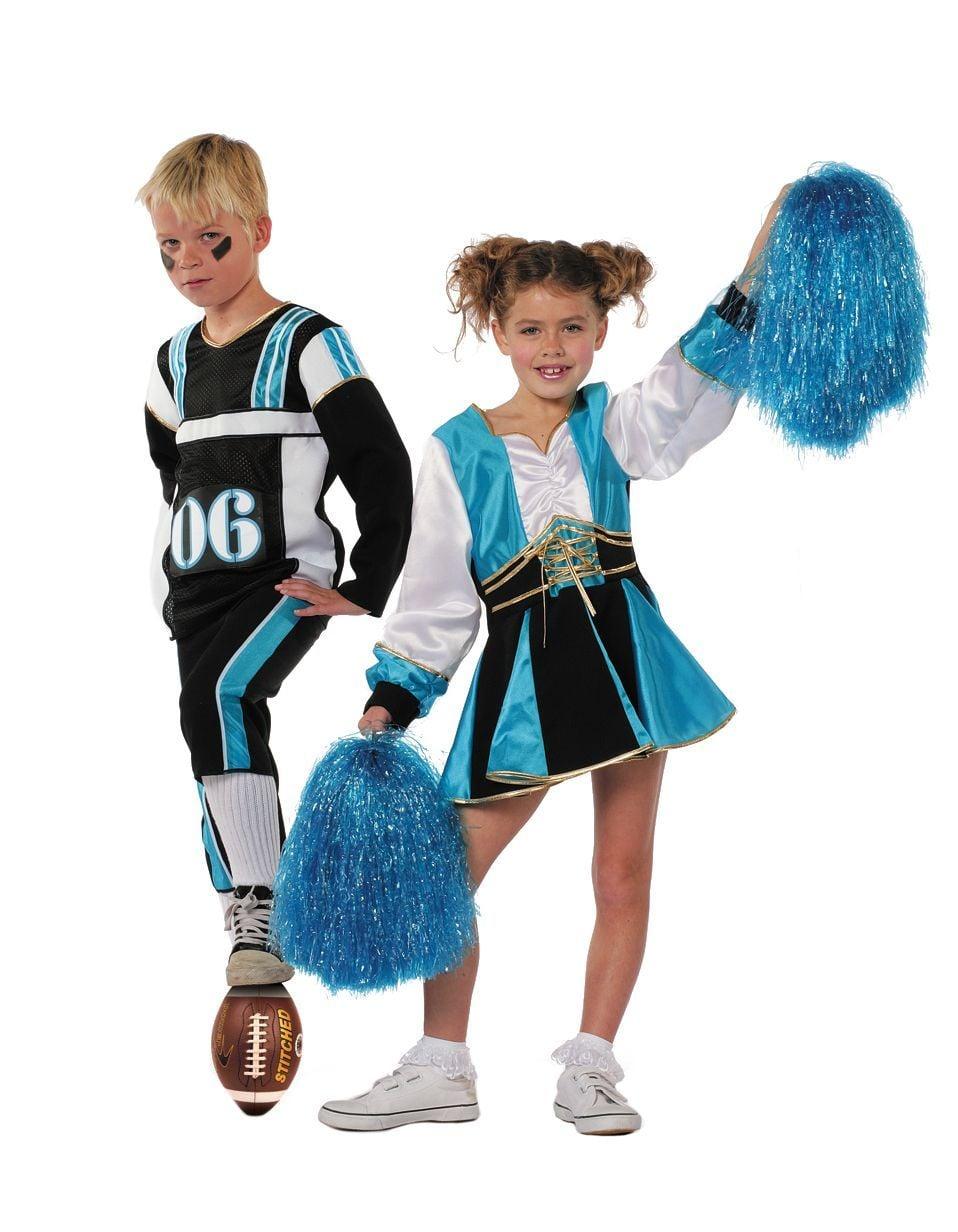 Cheerleader aqua/zwart