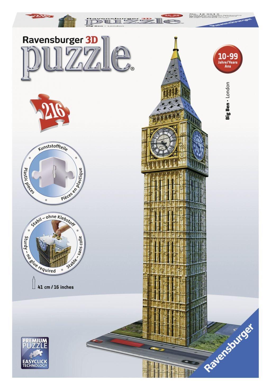 Ravensburger 3D puzzel Big Ben -