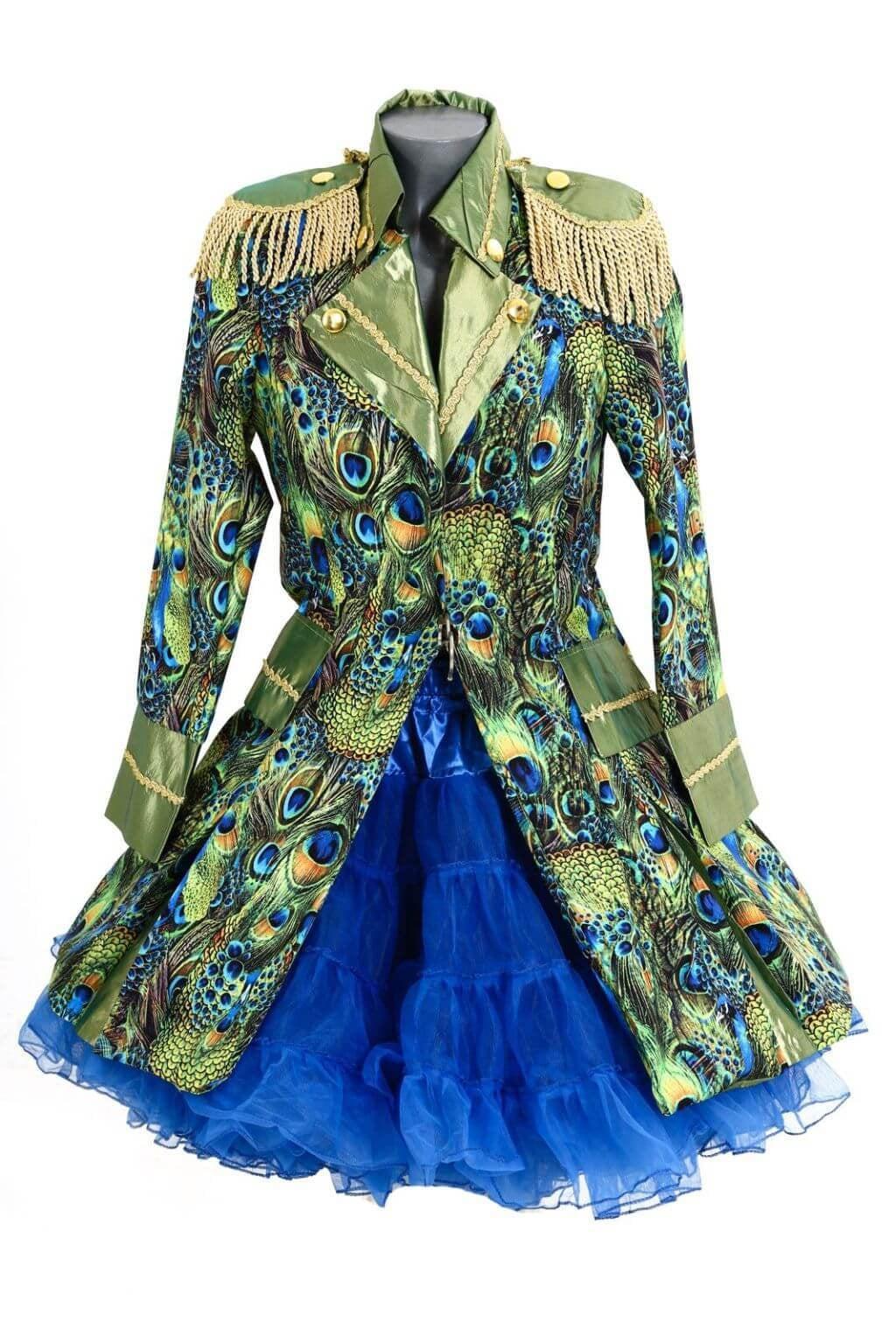 Peacock pauw lang
