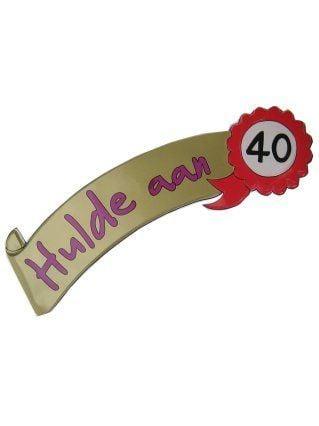 Wanddeco hulde 40