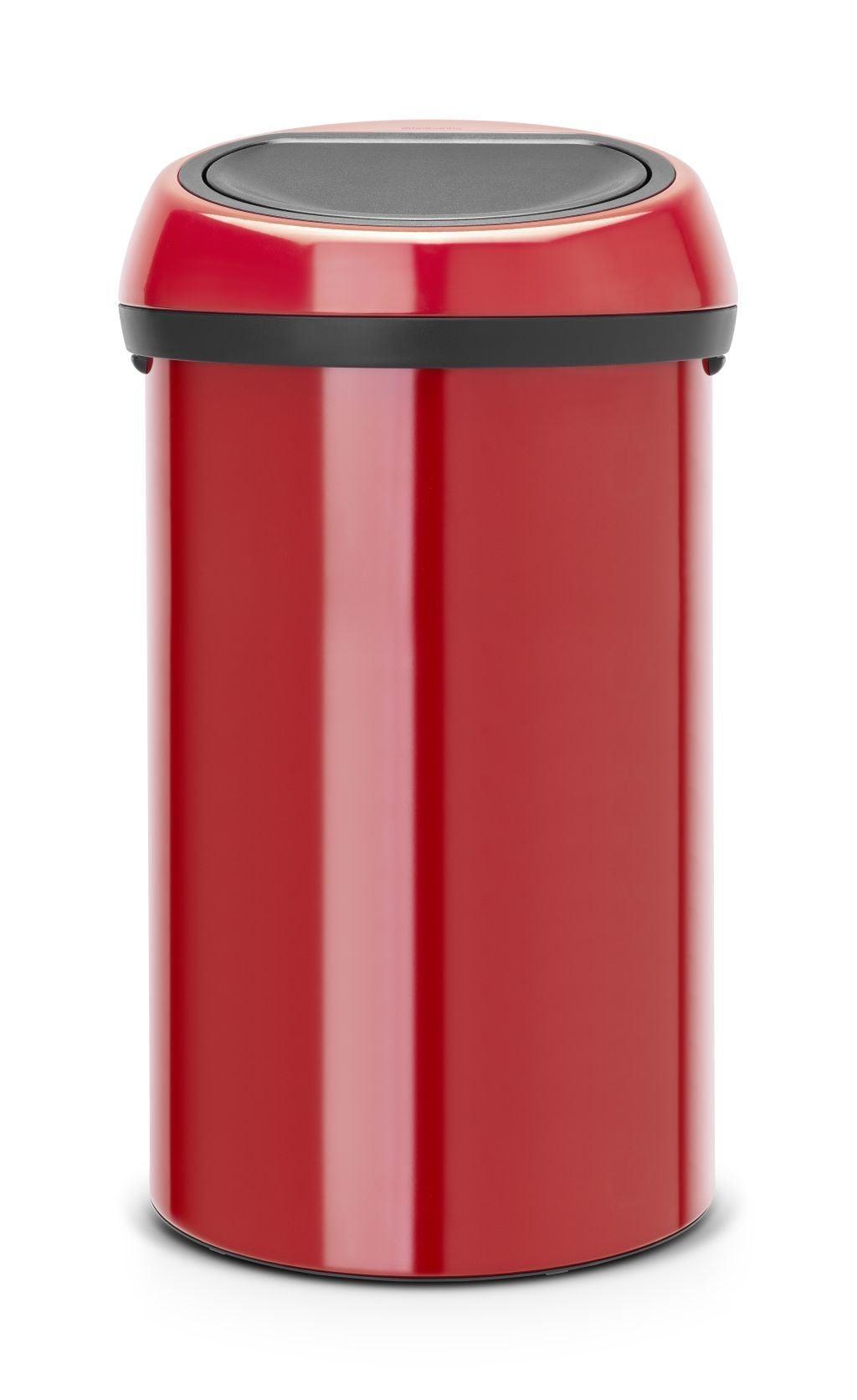 Aanbieding Brabantia Touch Bin 30 Ltr.Aanbieding Brabantia Touch Bin 60 Liter Passion Red Brabantia Met