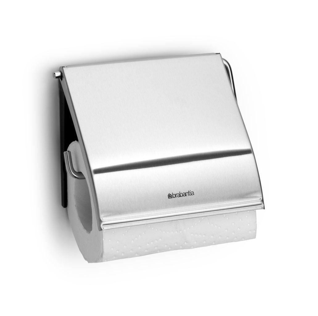 Brabantia toiletrolhouder matt steel