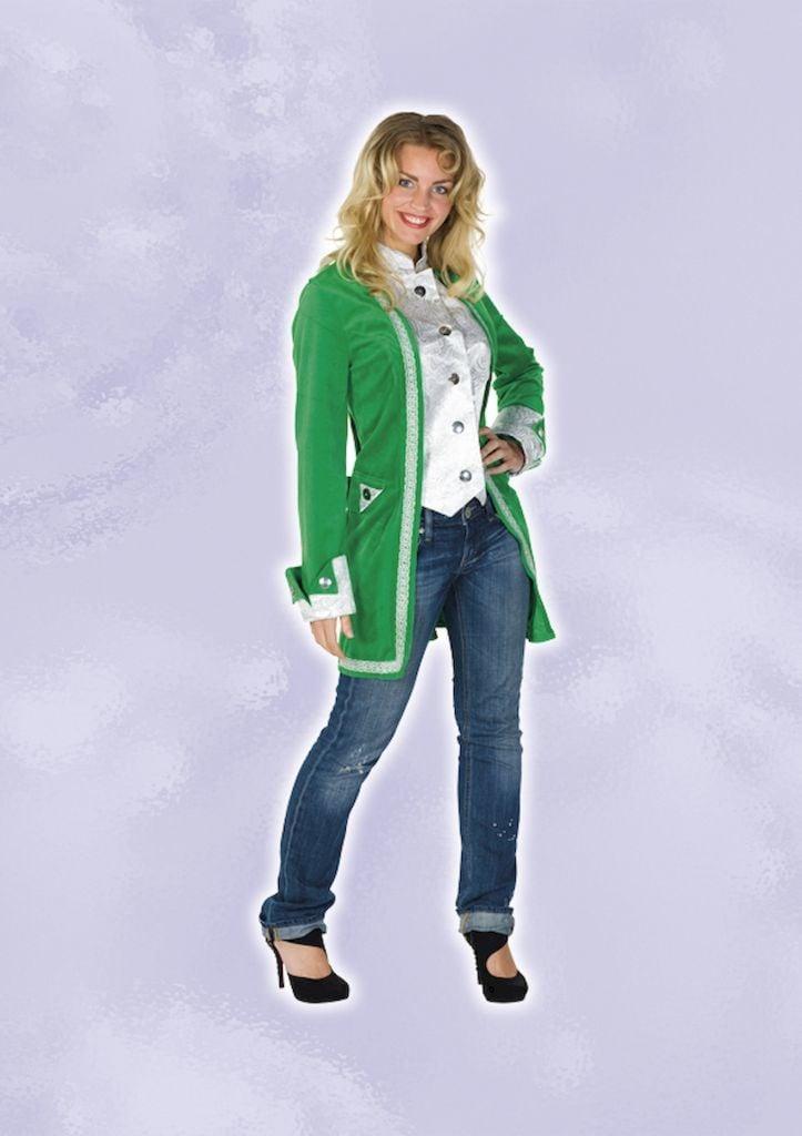 Renaissance jas groen op=op