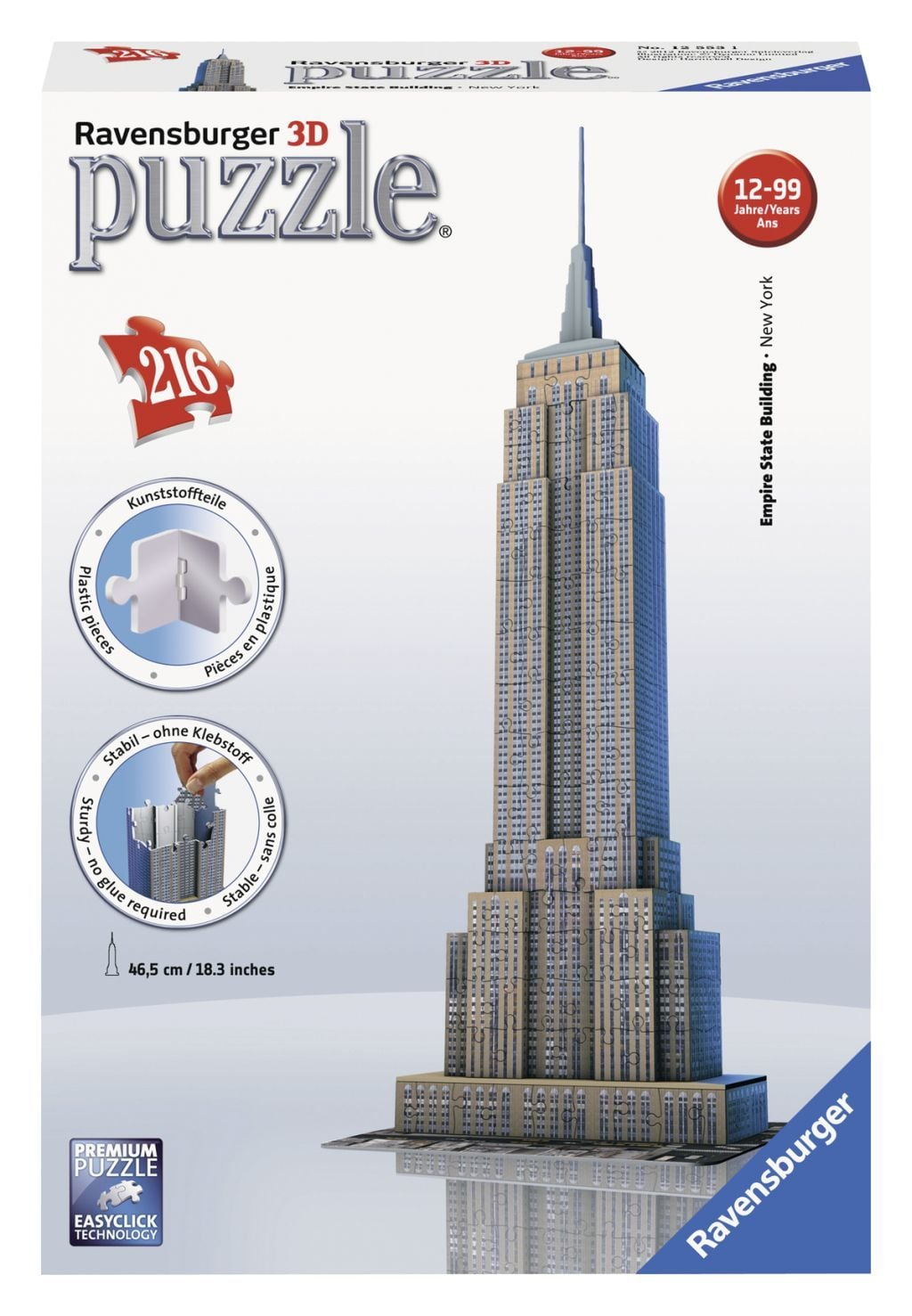 Ravensburger 3D puzzel Empire State Building -