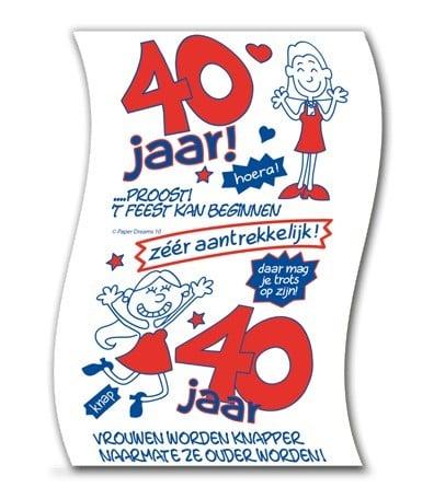 Toiletpapier - 40 female