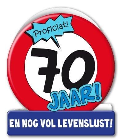 Wenskaarten - 70 jaar verkeersbord