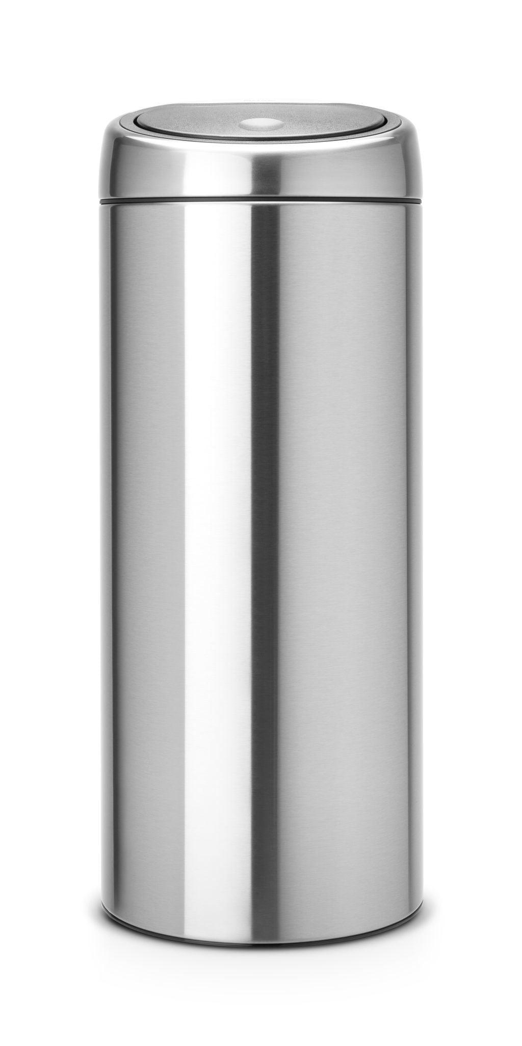 Brabantia Touch Bin Afvalverzamelaar 30 Liter.Brabantia Afvalverzamelaar 30 Liter Touch Bin Matt Steel Brabantia Afvalverzamelaar 30 Liter Touch Bin Matt Steel